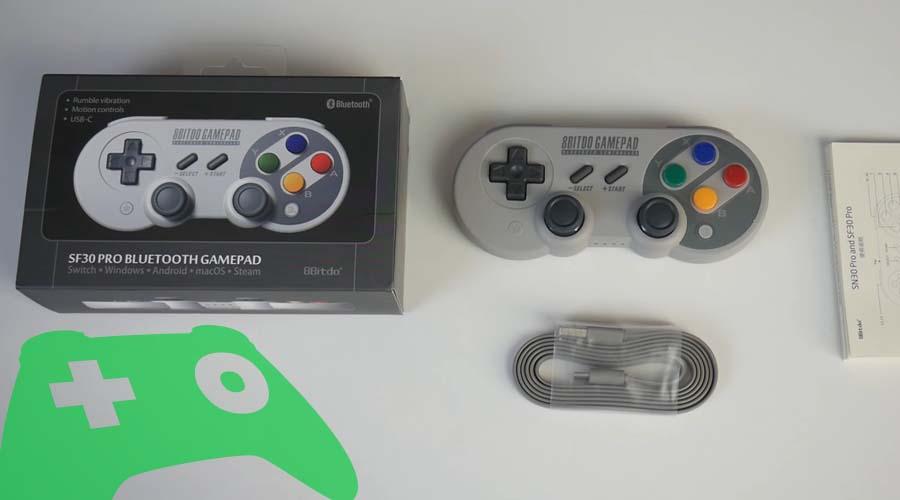 gamepad SN30 Pro