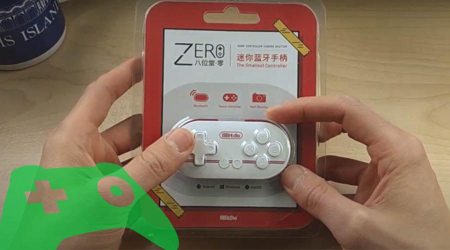 gamepad 8bitdo zero rojo