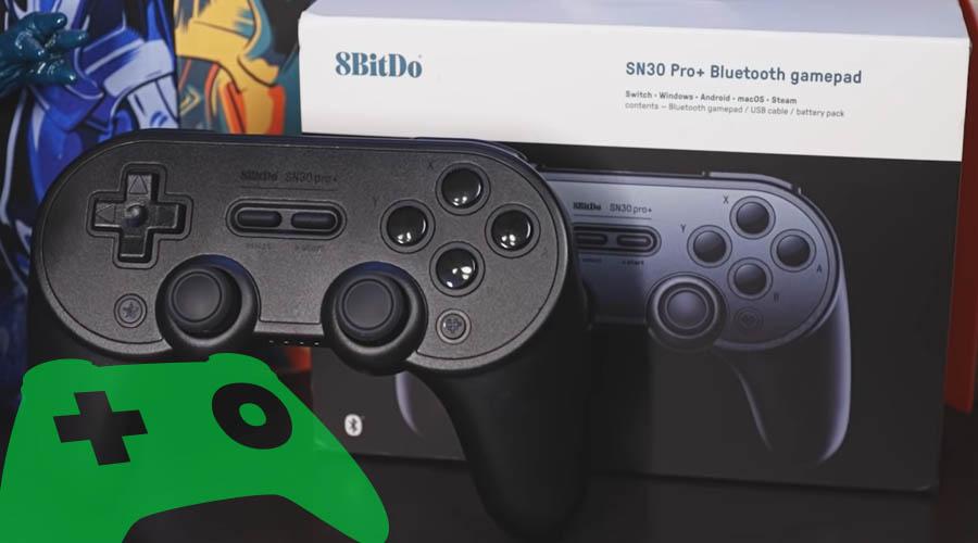 Gamepad 8BitDo SN30 Pro+